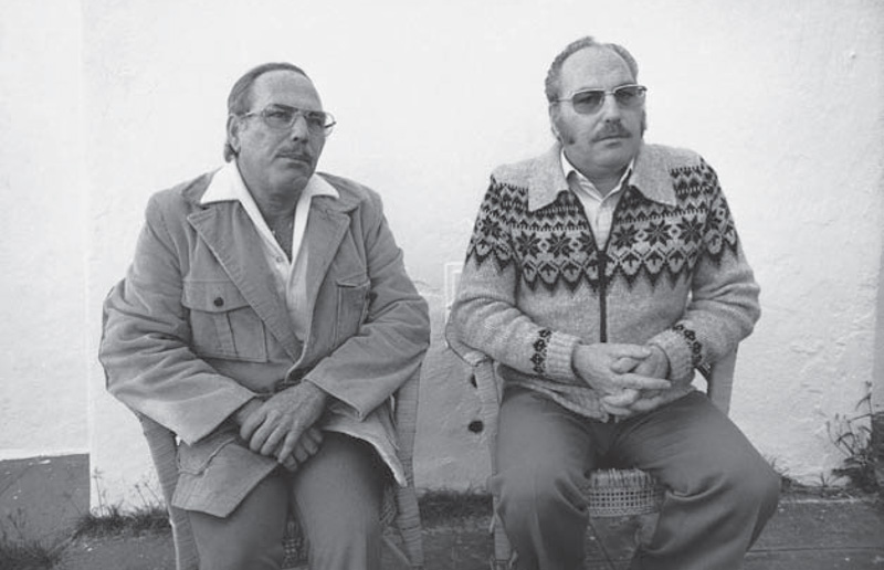 Jack Yufe (left) and Oskar Stohr (right)